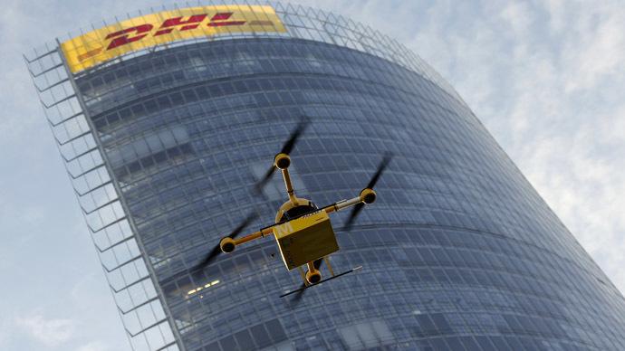 dhl-drones-parcel-delivery.si