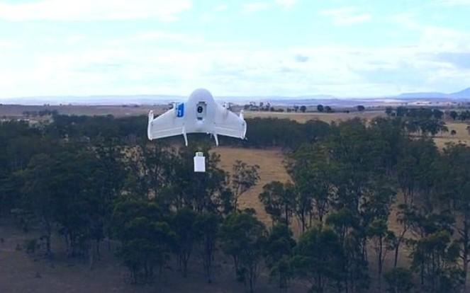 Google opublikowało film prezentujący projekt systemu dostaw przesyłek z wykorzystaniem dronów.