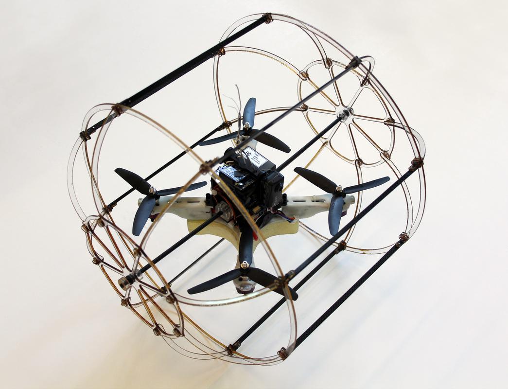 Kanarek w trzepaczce do jajek. Tak, to też może być dron!