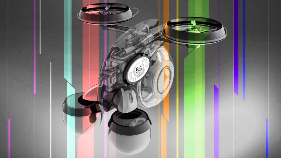 Dron, który zastąpi kelnera, barmana, ekspres do kawy i herbaty oraz dietetyka.