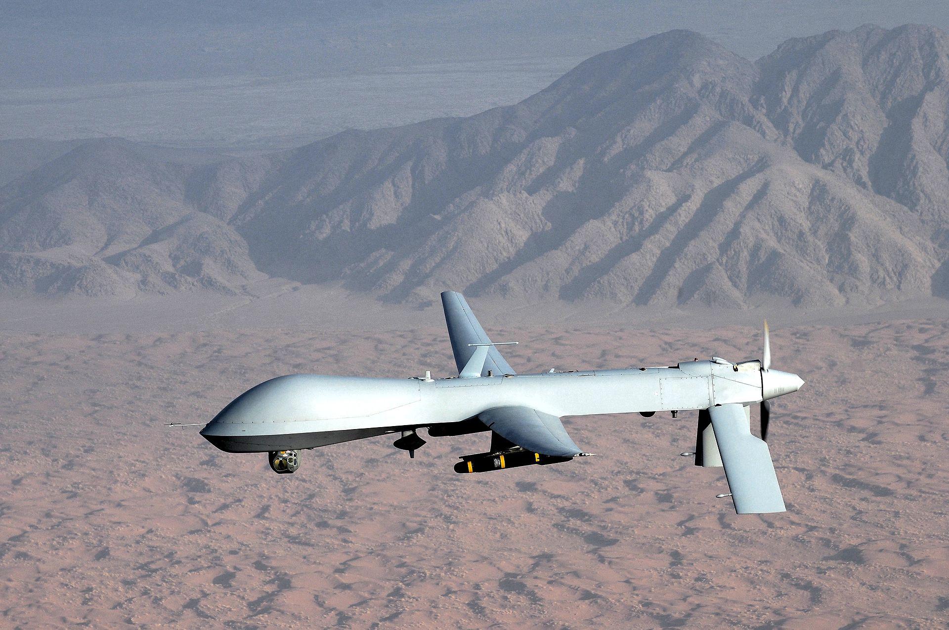 MQ-1 Predator, fot: wikiwand.com/en/General_Atomics_MQ-1_Predator