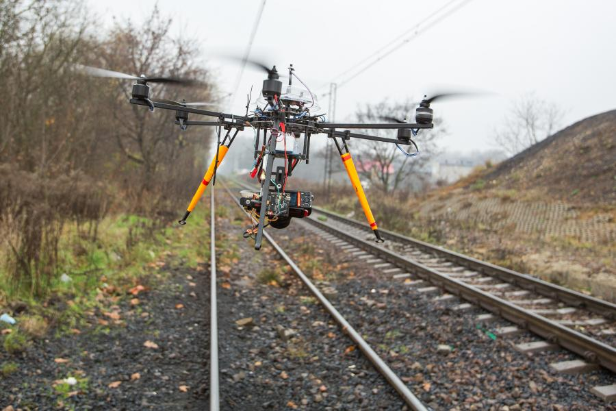 Dron PKP Cargo,  Forsal.pl
