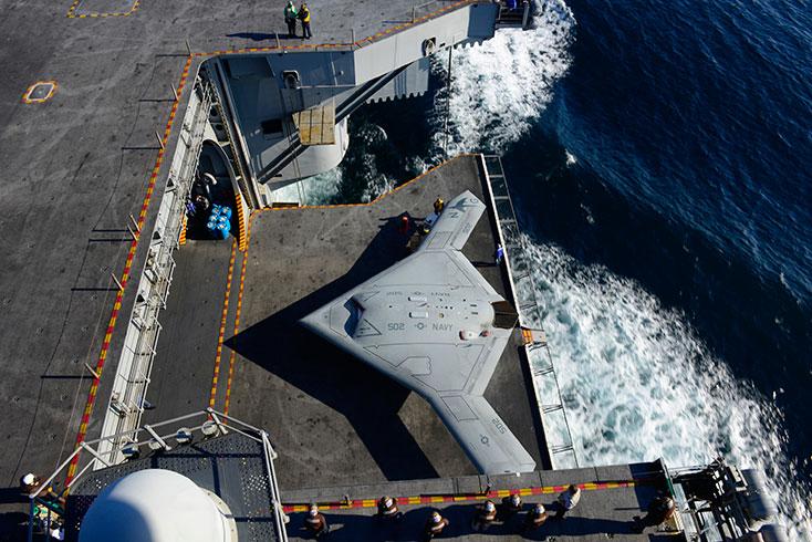 X-47B UCAS, fot: northropgrumman