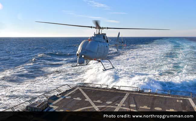 Helikopter MQ-8C Fire Scout, fot: Northrop Grumman