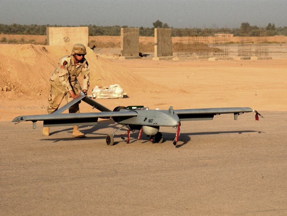 RQ-7 Shadow, fot http://en.wikipedia.org/wiki/AAI_RQ-7_Shadow