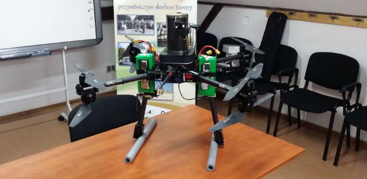 octocopter, fot: Radio Gdańsk/Przemysław Woś