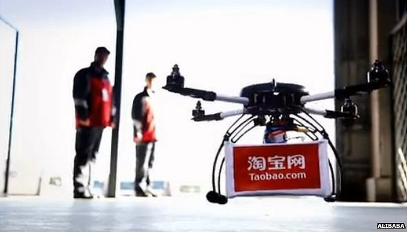 Dron Alibaby, fot: bbc.com