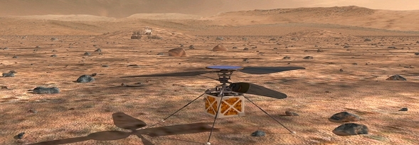 Mars Helicopter, fot: NASA