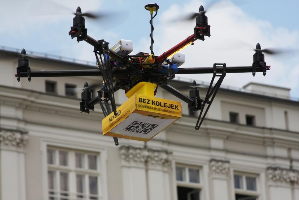 dron pokazowy z poprzedniej Droniady/2014, fot: 5zywiolow.pl