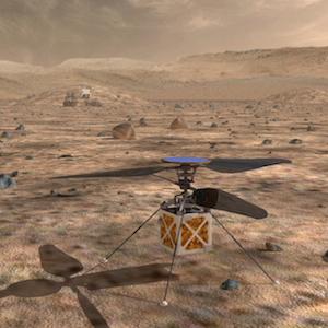 Drony podbiły już Ziemię,  czas teraz na Marsa!