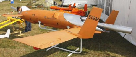 "E08M ""Berta"" produkcji Eniks fot: http://missiles.ru/ENIKS-2009.htm"