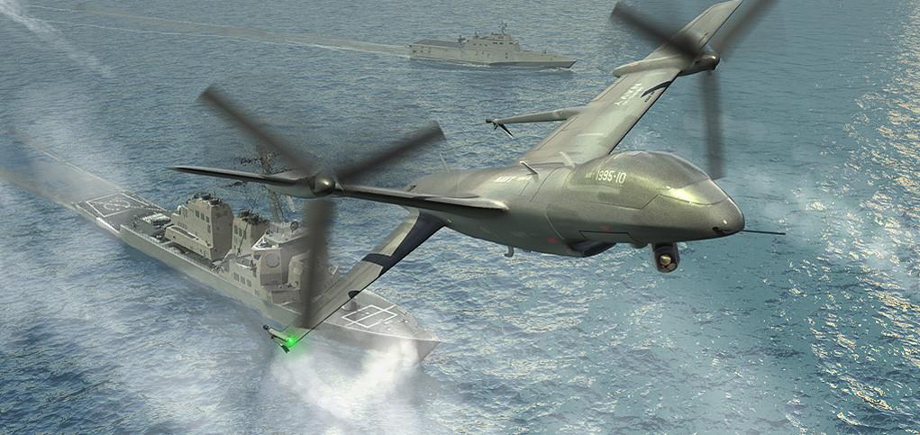 DARPA: Projekt TERN – pokładowe bezzałogowce klasy MALE.
