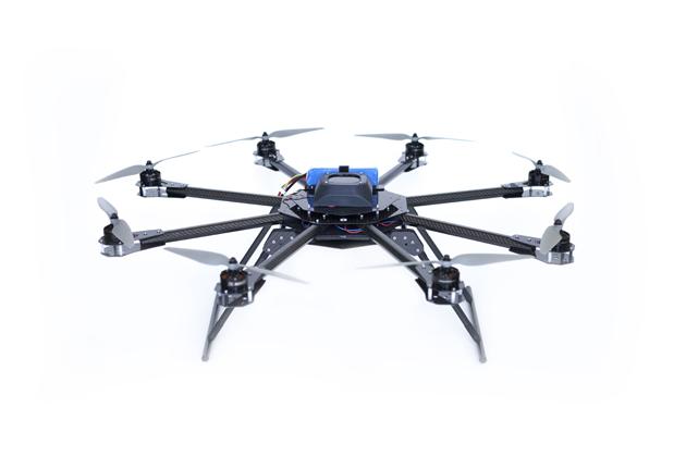 Octocopter 2, fot: archaerial.com