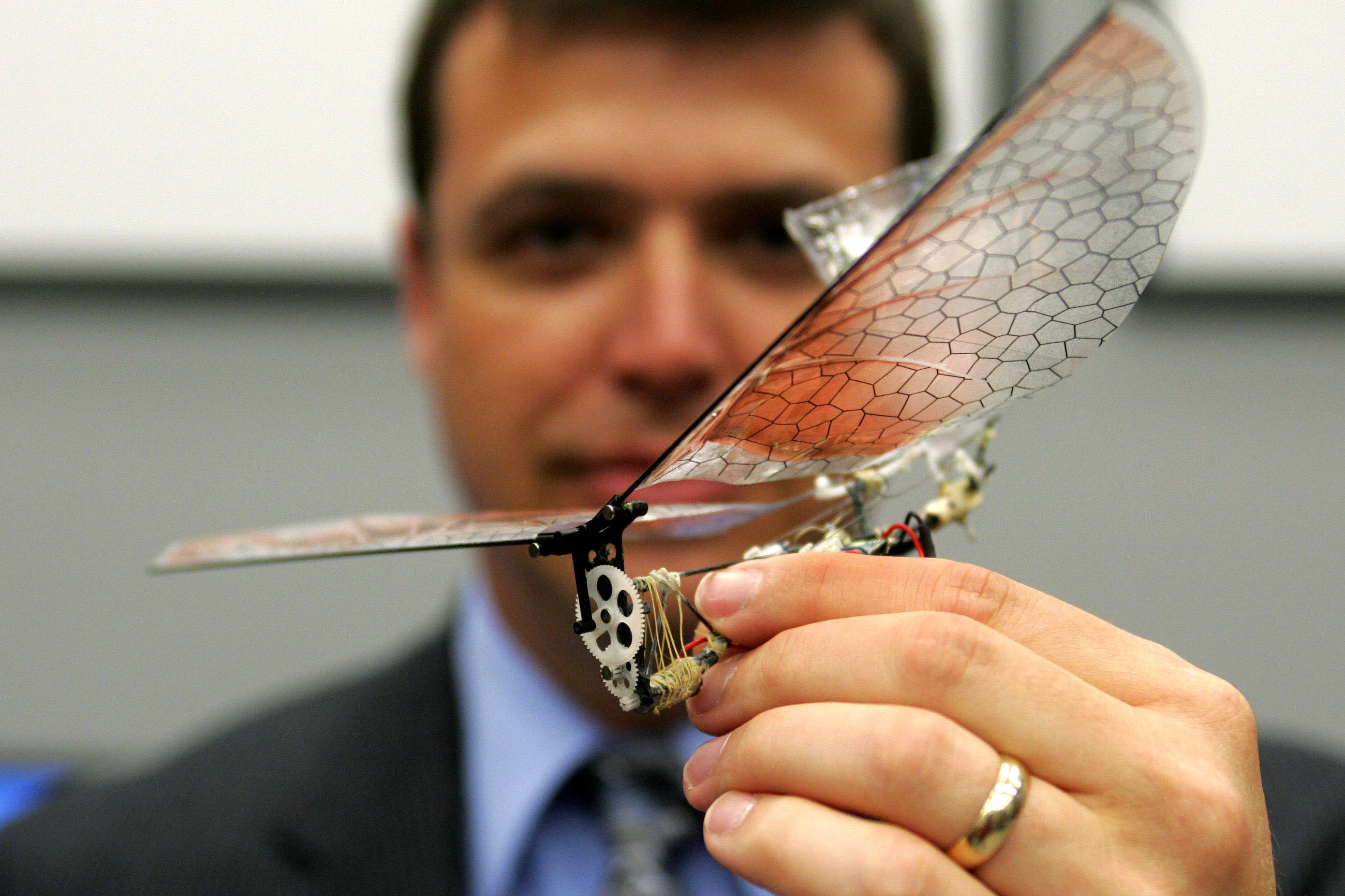 Micro Air Vehicle, Dr. Gregory Parker