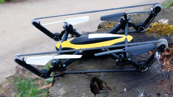 "Auto-dron ""B-Unstoppable"", fot. W. Mielniczek"