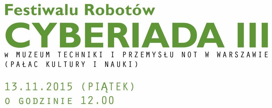 Cyberiada III / www.cyberiada.mtip.pl