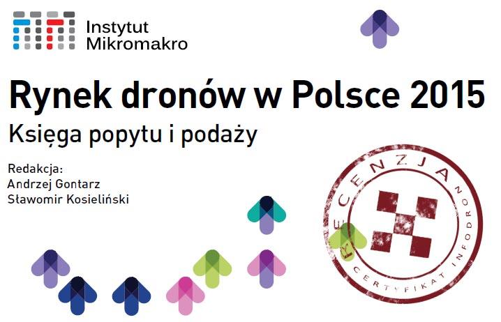 Rynek dronów w Polsce 2015 [recenzja]