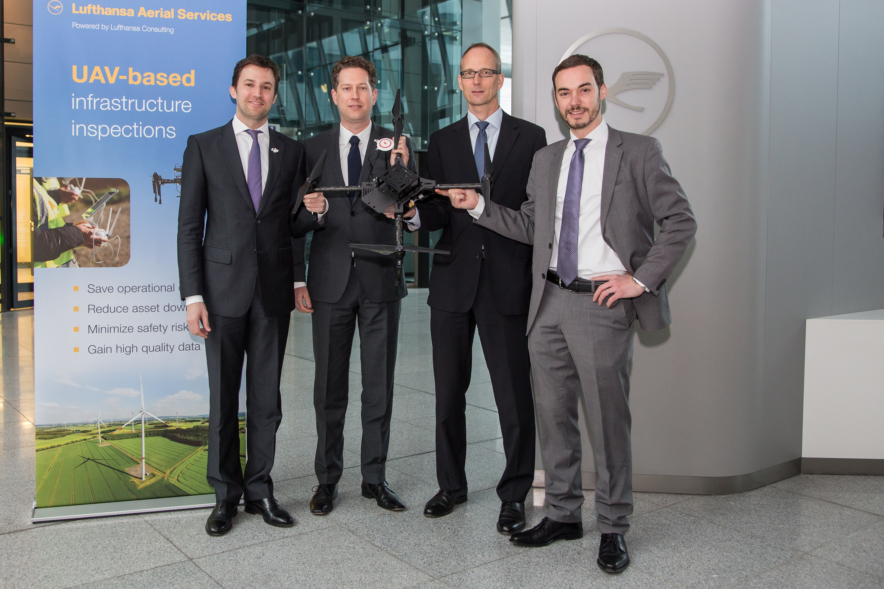 Lufthansa Aerial Services i DJI połączą siły w celu opracowania komercyjnych aplikacji dla dronów