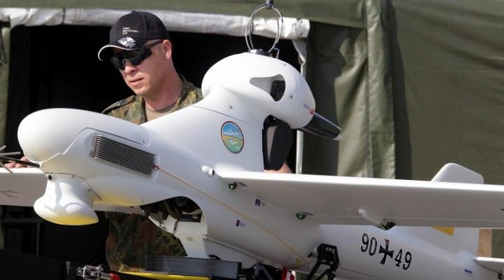 Z cyklu Ukraina. Czyżby dron Luna bał się zimna?