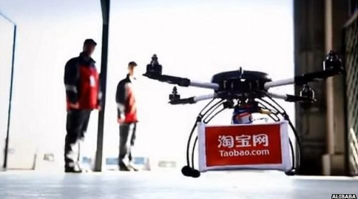 Chiński Alibaba idzie w ślad za Google, DHL i Amazonem.