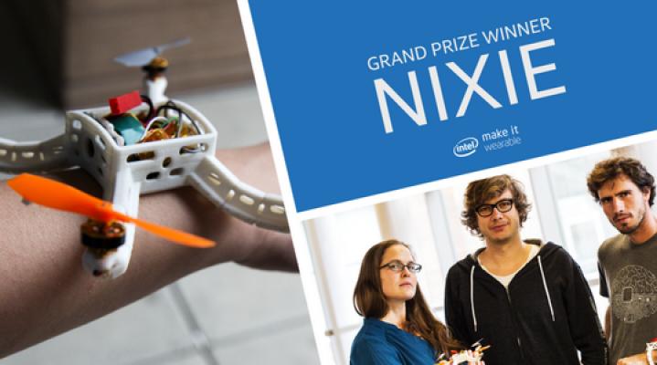 Dron Flynixie miażdży konkurencję w konkursie Intela.