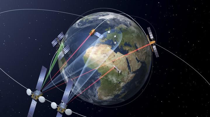 Kosmiczna Infostrada EDRS m.in. dla dronów!