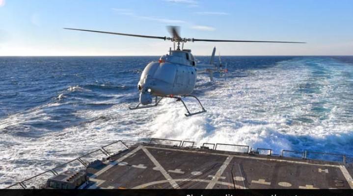 Kolejny, ubezzałogowiony helikopter.
