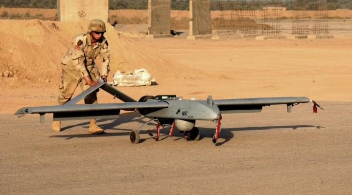 """Amerykańska armia buduje lotnisko """"tylko"""" dla bezzałogowców."""