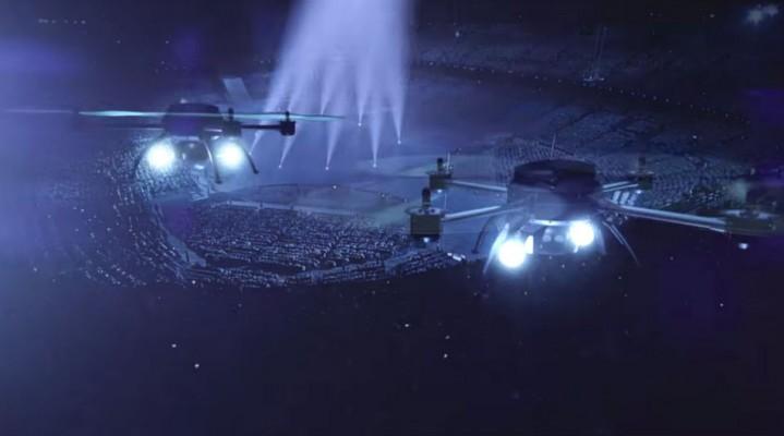 Bezzałogowy Air Show w stolicy Holandii.