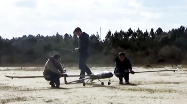 Portugalia: dron dostarczający internet gotowy do lotu.