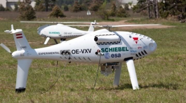 Camcopter S-100 na straży pokoju na wsch. Ukrainie