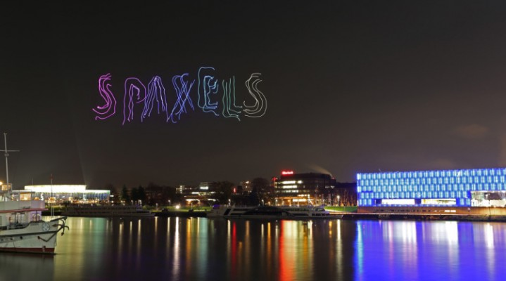 Spaxels, czyli niesamowity spektakl na niebie!