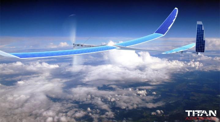 Titan Aerospace produkującego drony solarne wykupiło google!